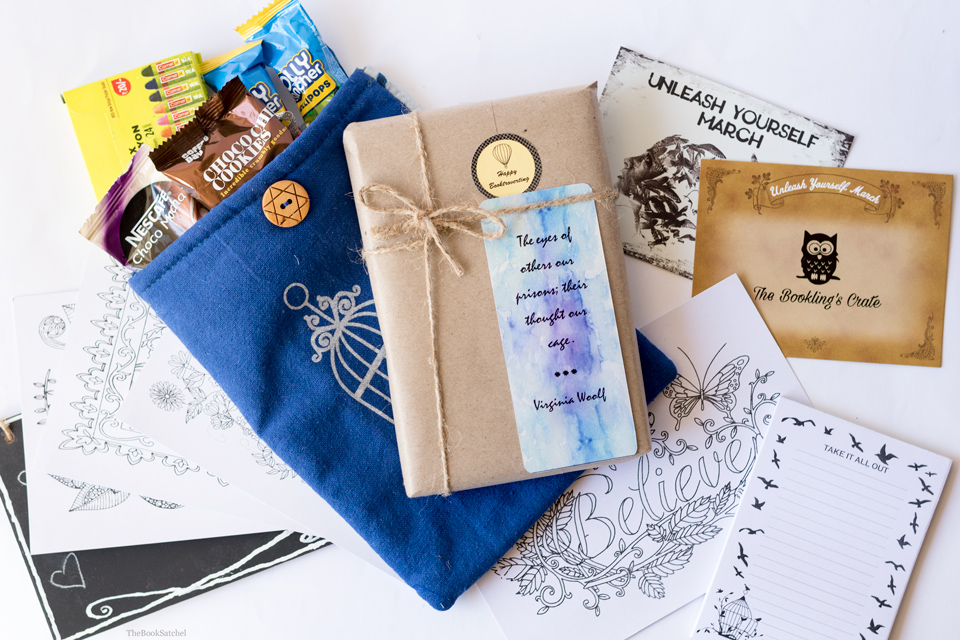 The Bookling's Crate March Unboxing